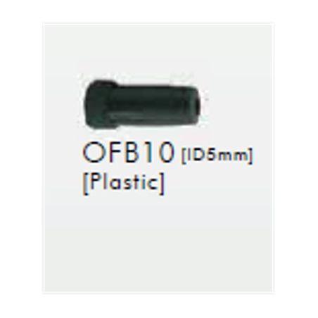 EMBOUT DE GAINE DE FREIN SUNRACE B10 5MM*10PCS PLASTIC BLACK