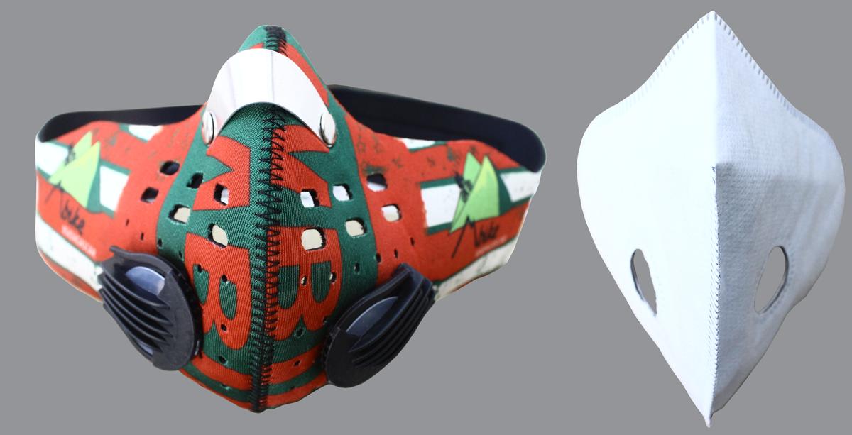 masque anti pollution avec filtre