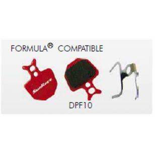 PLAQUETTE DE FREIN SUNRACE F10 COMPATIBLE FORMULA
