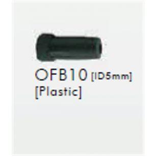 EMBOUT DE GAINE SUNRACE B10 Plastic,Black,Fits ψ5mm,10pcs