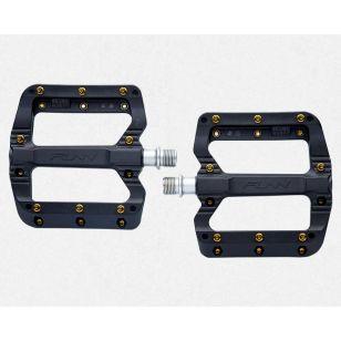 PEDALE FUNN BLACK MAGIC Fiber-reinforced platsic body, CrMo axle