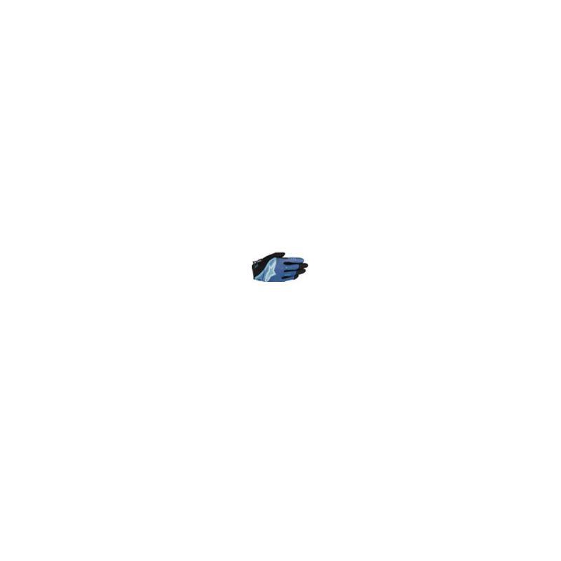GANTS ALPINESTARS FLOW GLOVE BLUE STRAT AQUA TL