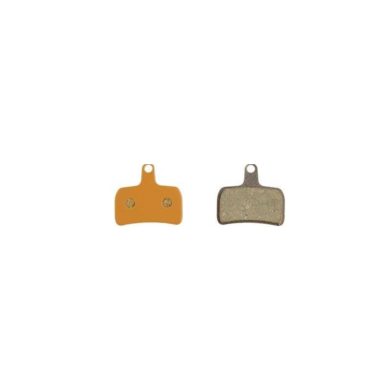 PLAQUETTE DE FREIN ALLIGATOR COMPATIBLE FREIN A DISQUE MOD PERFORMANCE DISC 6 ORGANIQUE SHIMANO XT M755
