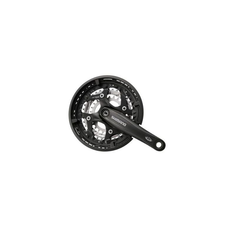 PEDALIER SHIMANO FC-M521 44-32-22T 3*9S OCTALINK NOIR