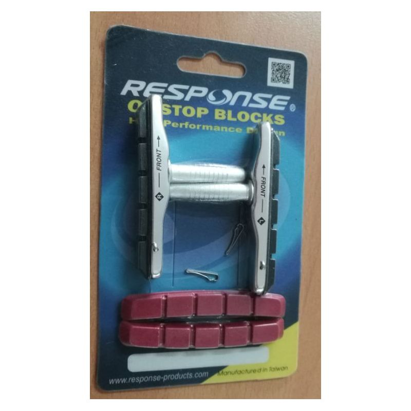 PORTE PATIN RESPONSE FBB-23 XTR POST TYPE BLACK WITH EXTRA RED PAD