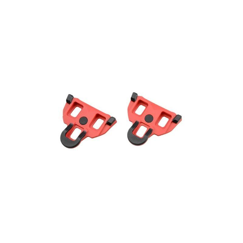 CALE PEDALE ATOO ROUTE TYPE SHIMANO SPD-SL MOBILE 4.5° ROUGE ANTI GLISSE