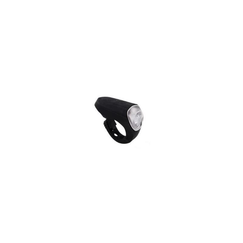 ECLAIRAGE ATOO RECHARGEABLE USB AV 40 LUMEN SILICONE NOIR (FIXATION STRAP)
