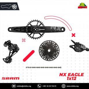TRANSMISSION COMPLET SRAM NX EAGLE 1x12V
