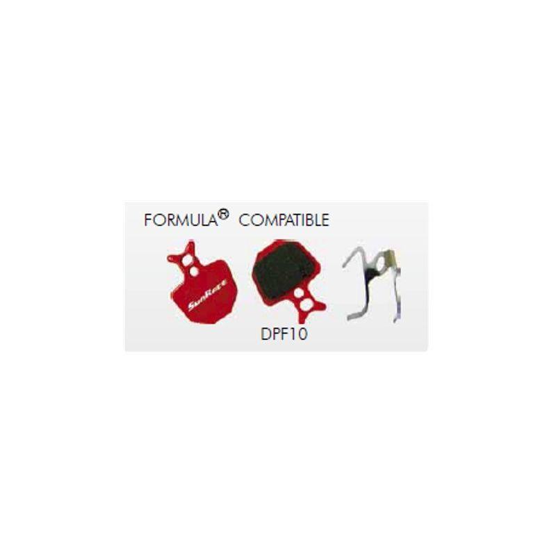 PLAQUETTE DE FREIN SUNRACE F10 Pair,FORMULA Compatible